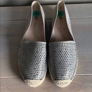 White Mountain Espadrilles With Bling
